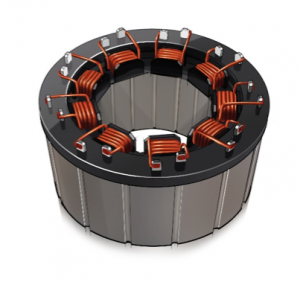 Figure 1: Welding Stator Wire to Substrate